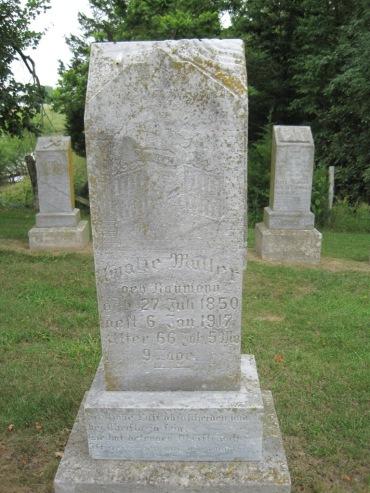Amalia Mueller gravestone Concordia Frohna MO