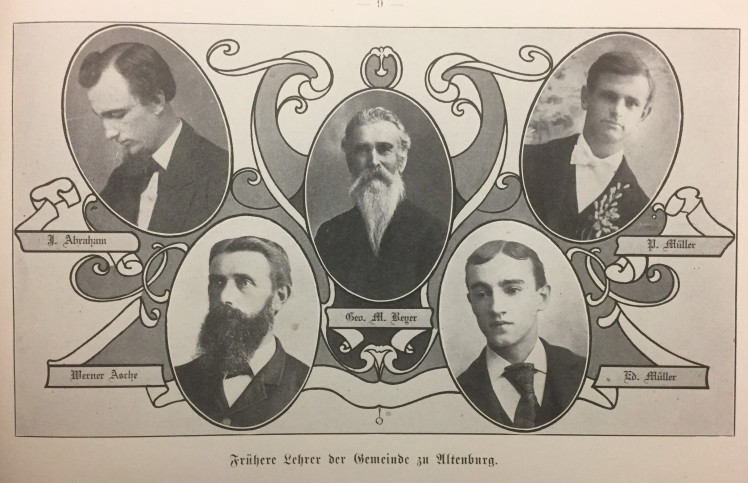 Early teachers Trinity Altenburg