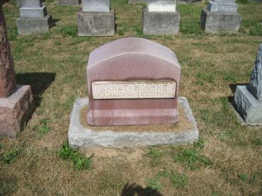 Ernst Hoehne gravestone Trinity Altenburg MO