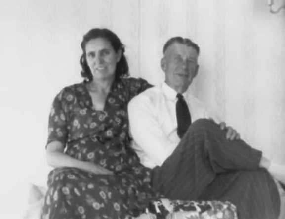 Flora and Frank Conrad