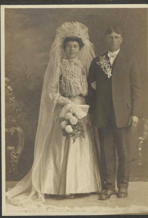 Fred and Lydia Moeckel wedding