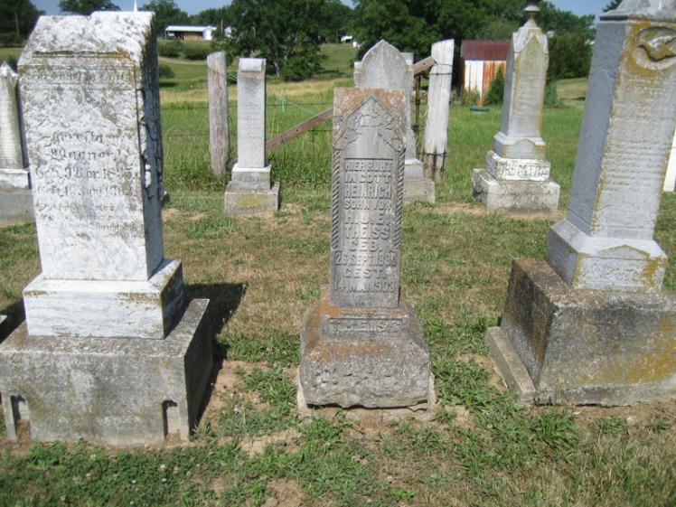 Heinrich Theiss gravestone Trinity Altenburg MO