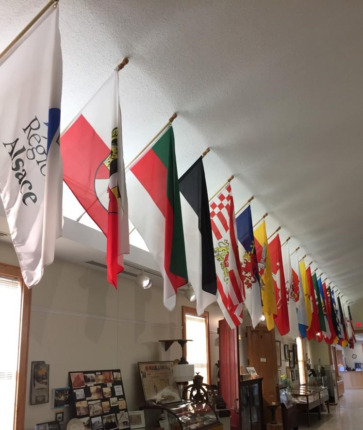 Museum Flag Display