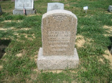 Oswald Haertling gravestone Trinity Altenburg MO
