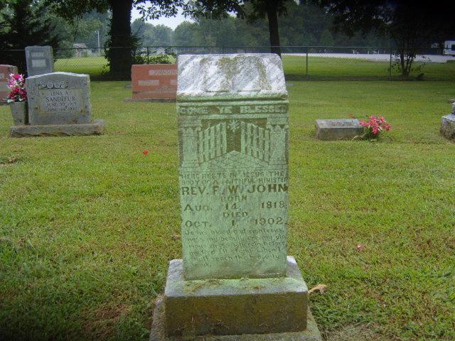 Rev. F.W. John Salem Springdale AR