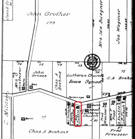 August Carl Kuntze land map 1915