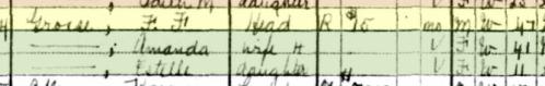 Ferdinand Grosse 1930 census 1 Glendale CA