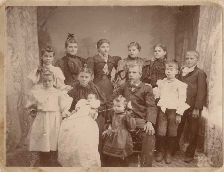 Ferdinand Grosse family
