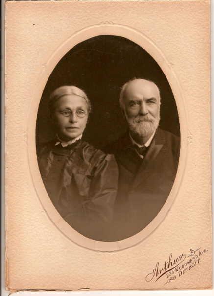 Friedrich August and Caroline Schmidt