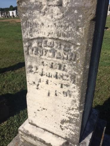 George Kaufmann gravestone Trinity Altenburg MO