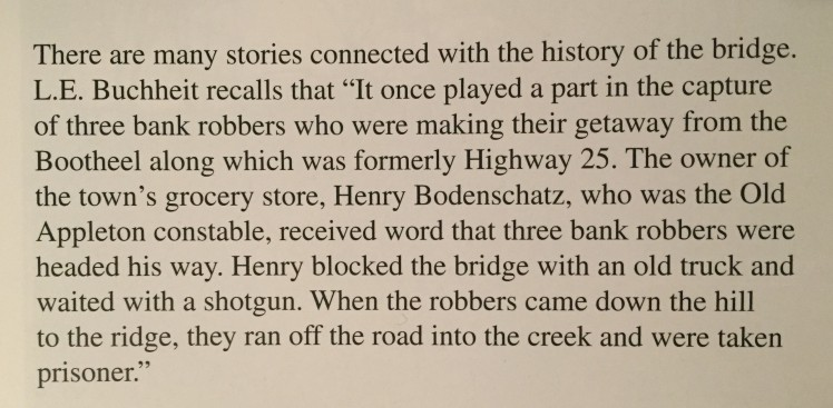 Henry Bodenschatz bank robbery story