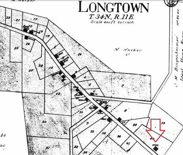 Longtown mill map 1915