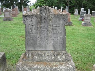 Martin Weinhold gravestone Concordia Frohna MO