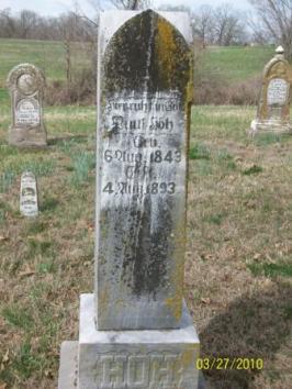 Paul Hoeh gravestone Grace Uniontown MO