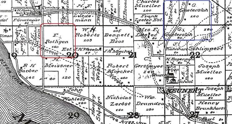 Rathjen Guetersloh land Fountain Bluff Township IL