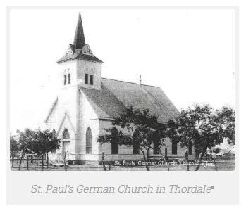 St. Paul Lutheran Church Thorndale TX old church