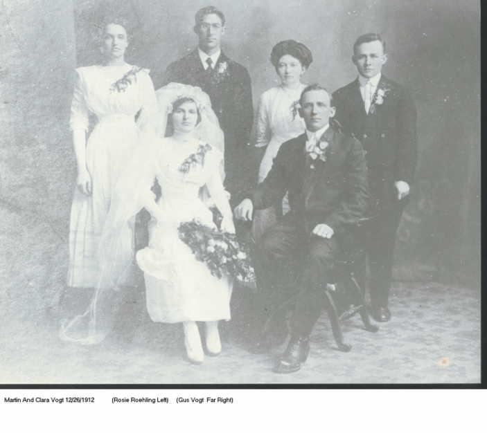 Vogt Ruehling wedding