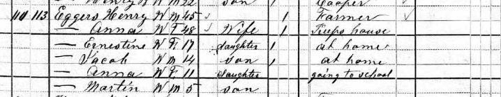 9. 1880 Census Henry