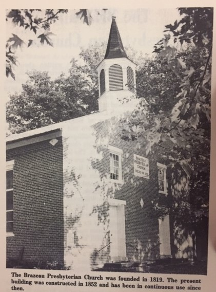Brazeau Presbyterian Church older photo