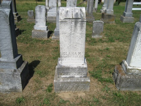 Clara Schuessler gravestone Trinity Altenburg MO