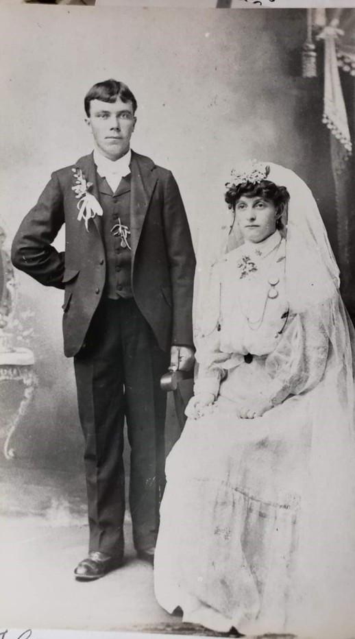 Gottlieb and Sophia Heins Miesner