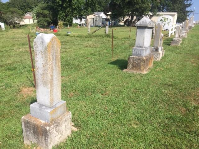 Hannah Jacob grave site empty