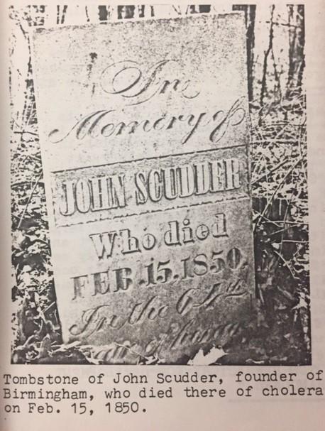 John Scudder gravestone Birmingham