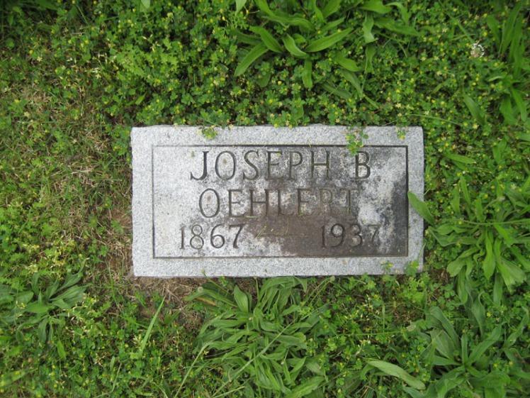 Joseph Oehler gravestone Immanuel Perryville MO