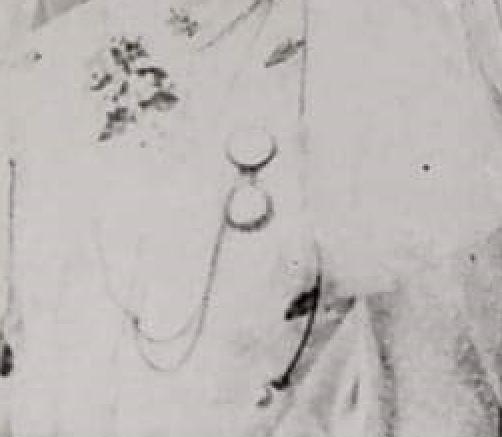 Sophia Miesner wedding dress enlargement