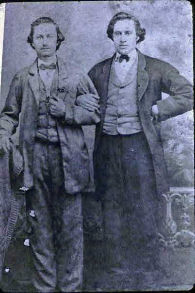 William and August Vogel