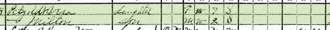 Adolph Petzoldt 1920 census 2 Brazeau Township MO