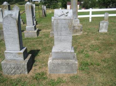Christian Militzer gravestone - Trinity Altenburg MO