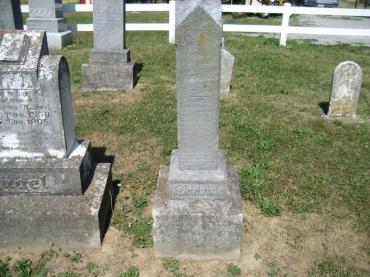 Henry Grebing gravestone Trinity Altenburg MO