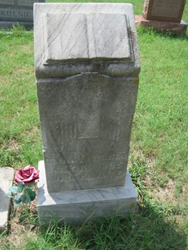 Magdalena Weber gravestone Zion Pocahontas MO