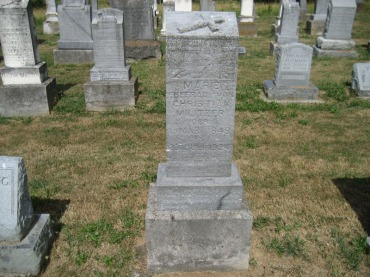 Maria Militzer gravestone Trinity Altenburg MO