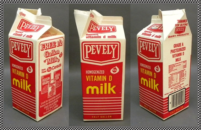 Pevely milk carton