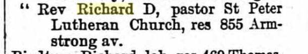 Richard D. Biedermann 1891 St. Paul MN city directory