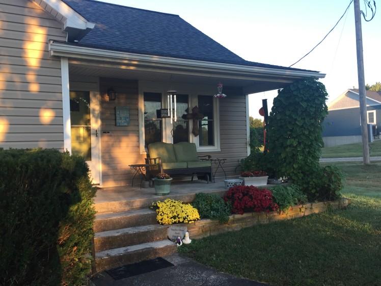 Schmidt front porch