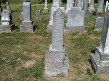 Wilhelmina Grebing gravestone Trinity Altenburg MO