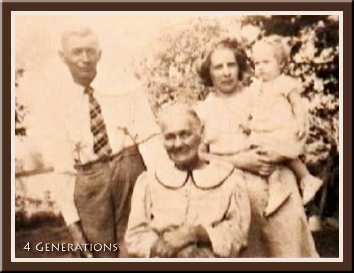 4 Generations in Harry Koenig family