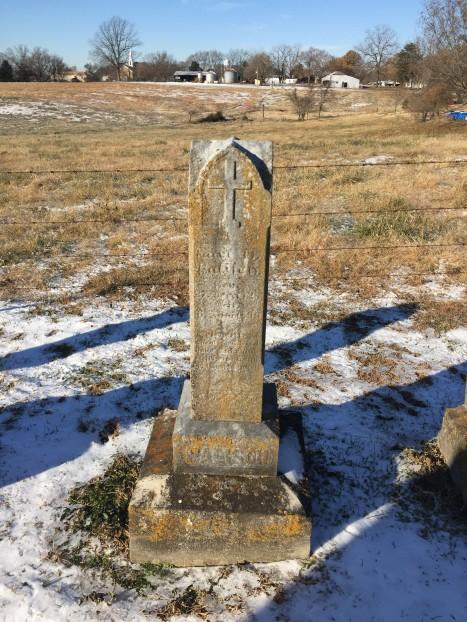 Auguste Palisch gravestone Trinity Altenburg MO