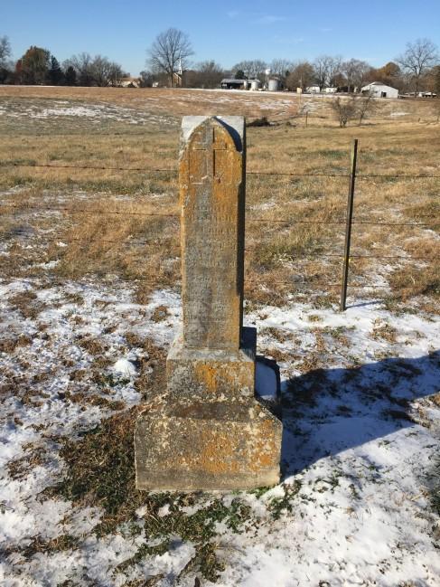 Carl Palisch gravestone Trinity Altenburg MO