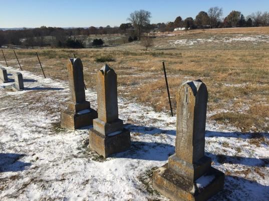 Carl Palisch Loretta Nennert Auguste Palisch gravestones