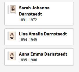 Darnstaedt girls Ancestry