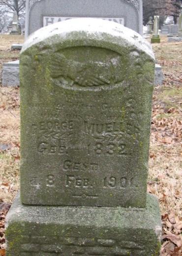 George Mueller gravestone Concordia St. Louis MO