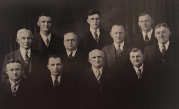 Grace Uniontown church officers 1939