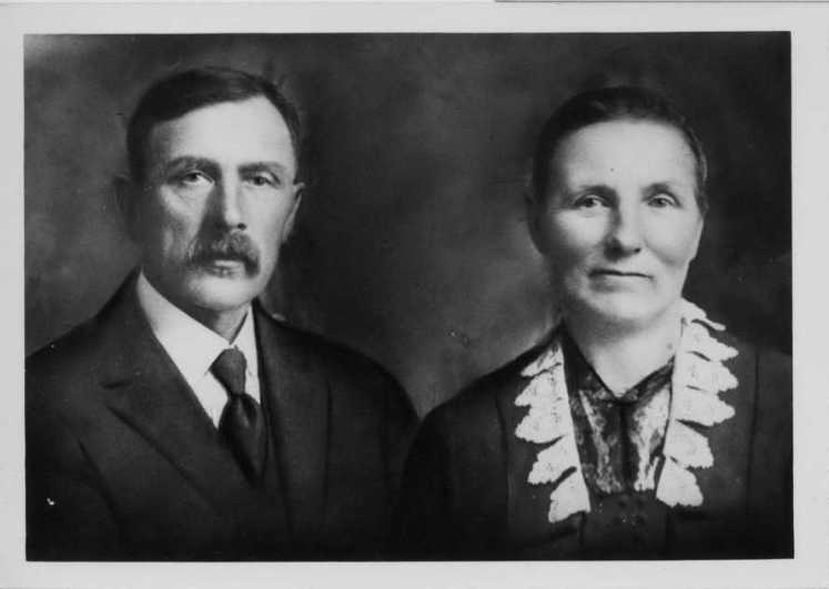 Henry and Katharinia Engelken 25th anniversary 1919