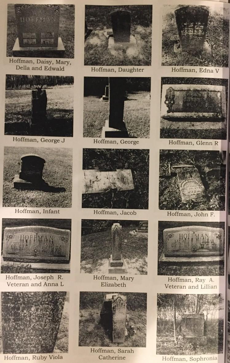Hoffman gravestones York Chapel Cemetery