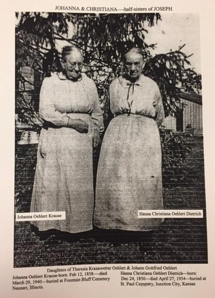 Johanna and Christiana Oehlert