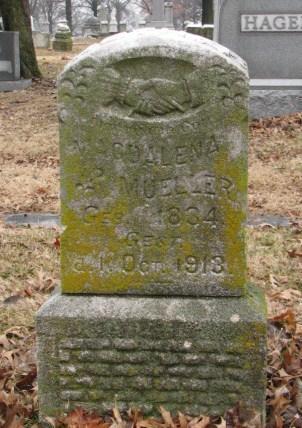Magdalena Mueller gravestone Concordia St. Louis MO